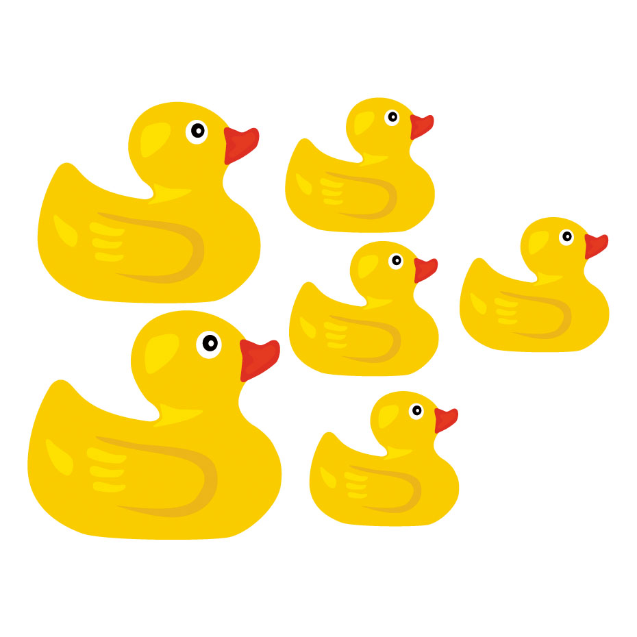 Aliexpress.com : Buy Funny Yellow Duck Wall Sticker Cartoon Animal ...