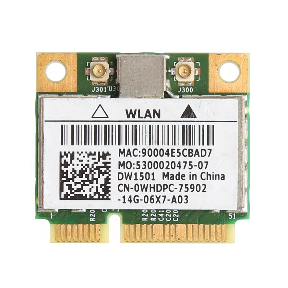 New 150M Wireless Wifi Mini PCI-E Card For Dell DW1501 0K5Y6D Broadcom BCM94313HMG2L C26