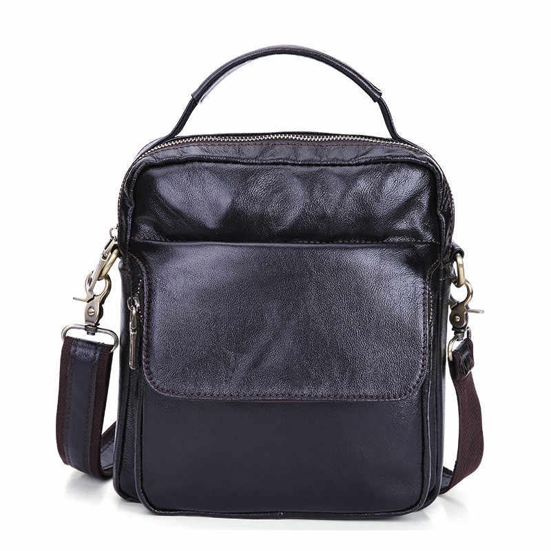 e71ecf422d08 Detail Feedback Questions about Cow Genuine Leather Messenger Bags ...