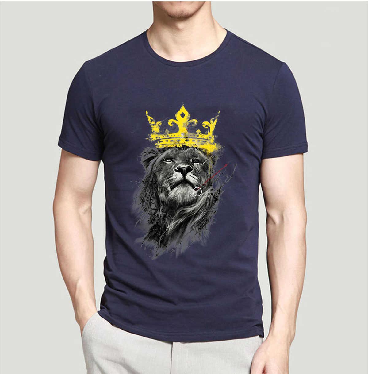 2019 новые летние футболки с животными женская футболка со львом футболка для мужчин 100% хлопок Высокое качество 3D Печатные Топы брендовые фитнес футболки
