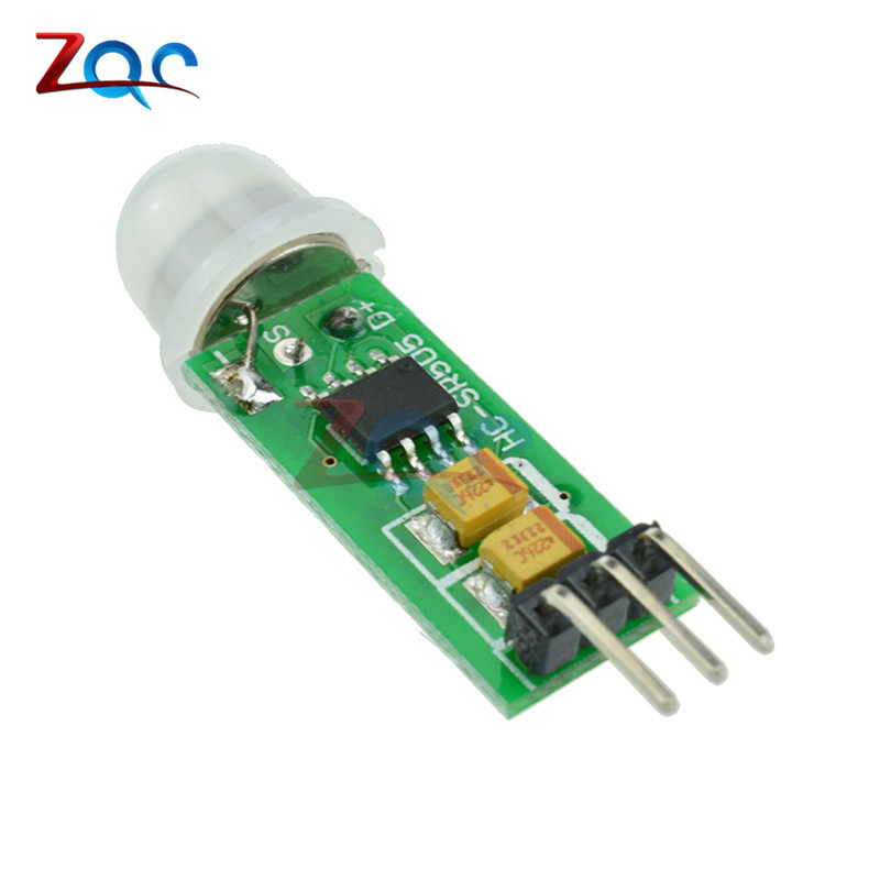 HC-SR505 mini-body Sensor Switch mini Infrared PIR Motion Sensor Precise Infrared Detector Module For Arduino hc sr501 human body pyroelectricity infrared sensor module green white