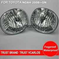 Vcarlos Top Quality OEM Fog Lamp With Harness Wiring Kit And Switch For Toyota Noah 2008