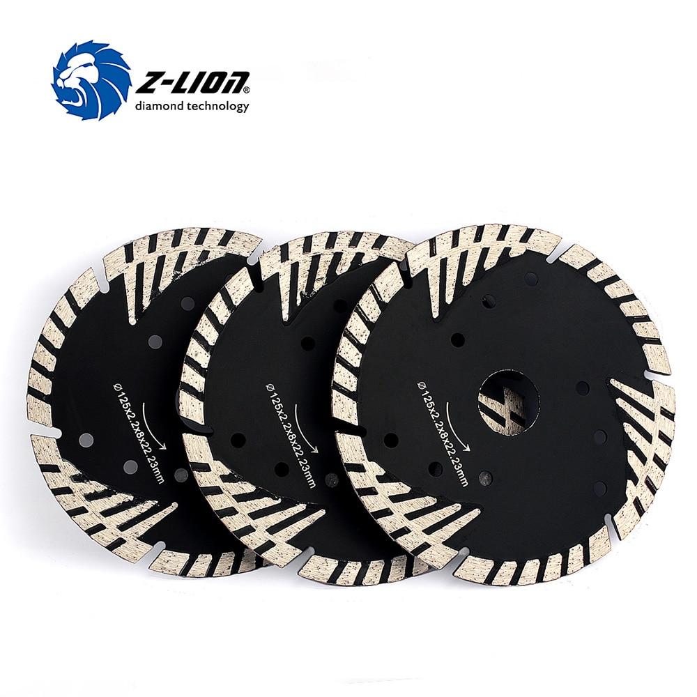 Z LION 5 3pcs lot diamond cutter wheel metal bond diamond saw blade turbo tooth Saw