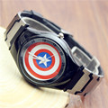 NEW VILAM Fashion Children Watch Cartoon-Watch Kids Boy Men Watches Captain America Casual Quartz Wristwatch Relogio Masculino