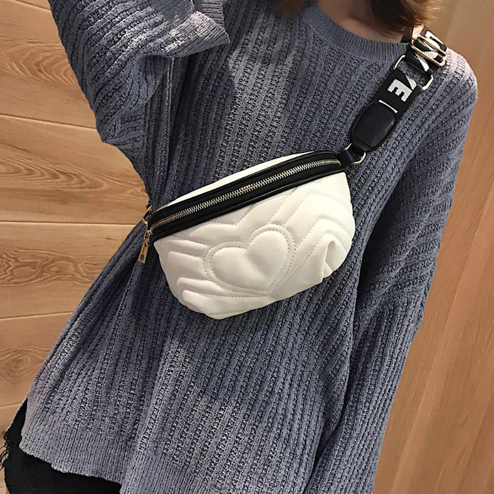 Sleeper #401 2019 NEW FASHION Women Cross body Shoulder Bag Pocket Bag Wild Chest Bag pure color beltbag hot sale Free Shipping