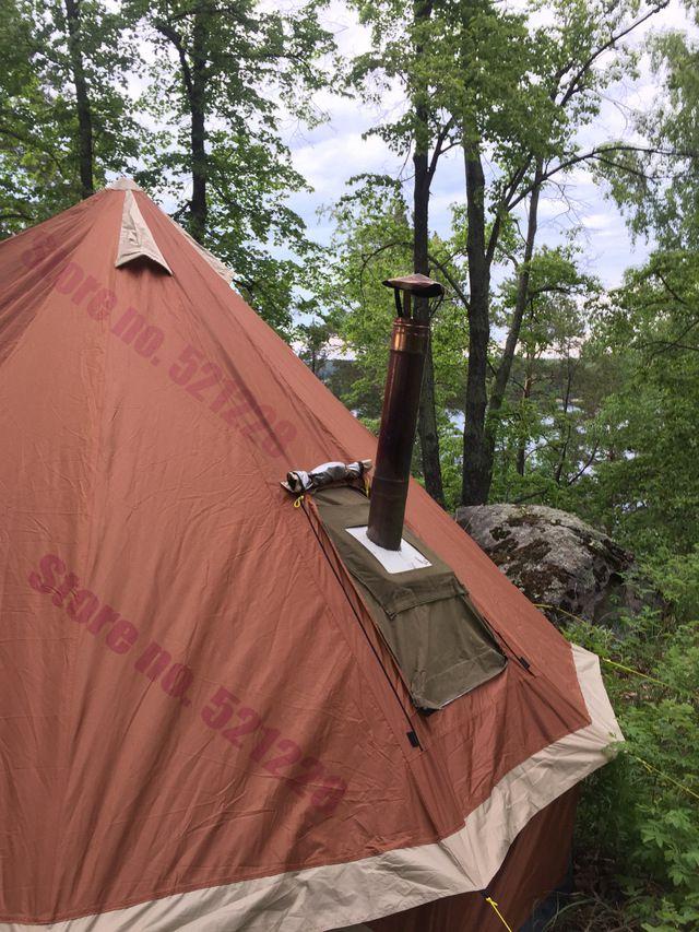 In vendita 5-8 persona Mongolia yurt famiglia viaggi trekking anti zanzara sole riparo tenda a baldacchino spiaggia di pesca all'aperto tenda da campeggio