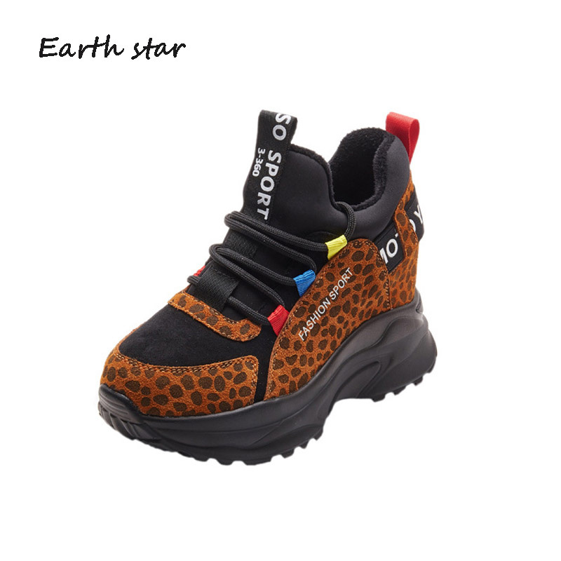 69cbebb2 Mujer Zapatos Casual Plataforma Calzado Cruz Negro Otoño atado marrón Marca  Señora Zapatillas De Moda Chaussure Rebaño TnHrpn