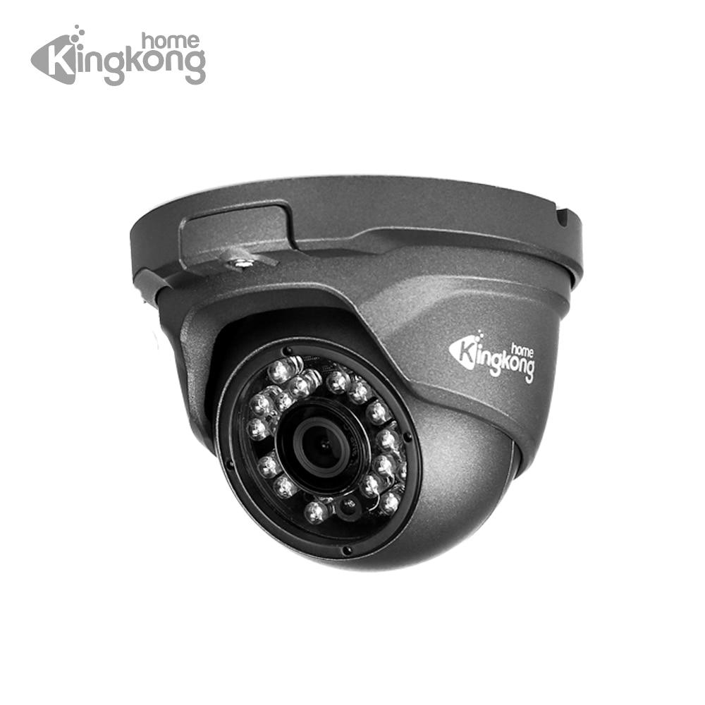 Kingkonghome IP Camera 48V POE Metal 1080P ONVIF Network Security Camera CCTV P2P Motion Detection Waterproof Outdoor IP Cam