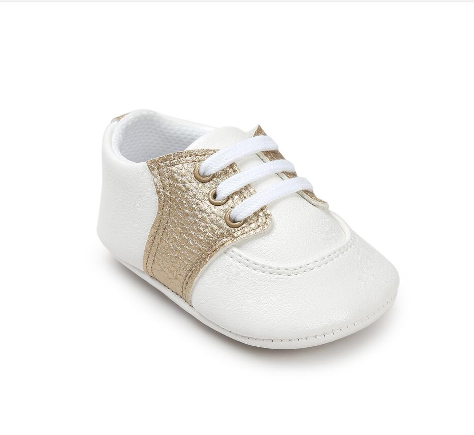 White shoes baby soft anti-skid baby shoes