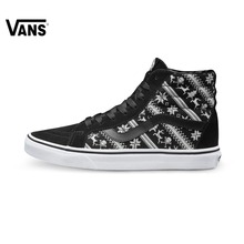 Original Vans Shoes Black White Women s Low-top Trainers Sports  Skateboarding Shoes Breathable Classic Canvas cf9bce457