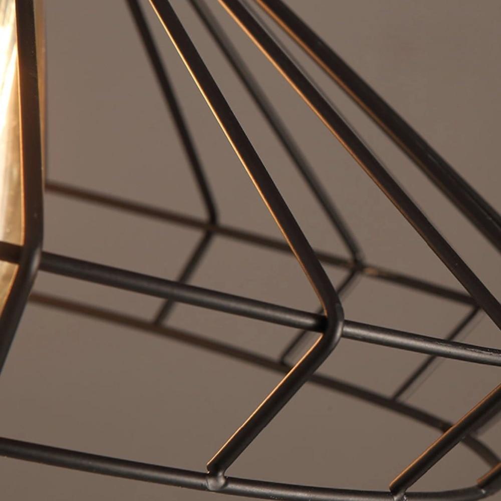 loft industrial iron cage. Loft Industrial Iron Cage. Retro Nordic Cage Pendant Light Country Art Drop O