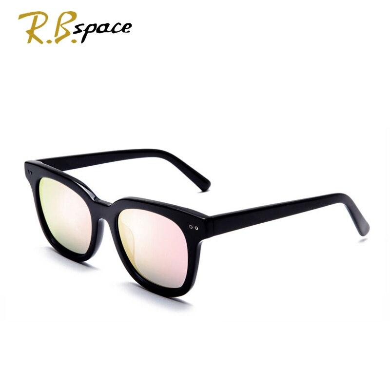 Rbspace унисекс ретро пластины поляризованных солнцезащитных очков бренд солнцезащитных очков Поляризованные линзы старинные очки Аксессуар... - 3