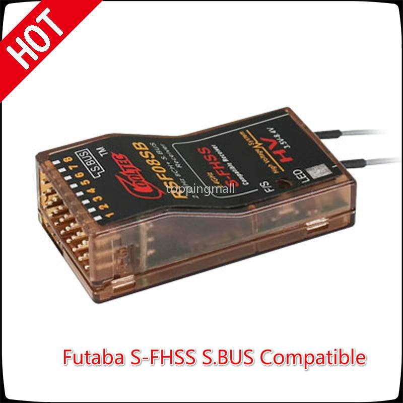 Cooltech RSF08SB 8ch Futaba S-FHSS S. récepteur Compatible BUS pour 10J 8J 6 K 6J 10J 14sg 18MZ WC 18SZ Frsky Delta 8 RC modèle