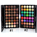 40 Color Professional Nude Eyeshadow Palette Long Lasting Natural Shimmer Eyeshadow Maquiagem Makeup Cosmetic Set