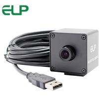 ELP 8mp 3264X2448 HD Высокое разрешение мини USB камера высокая скорость CCTV веб-камера с металлической коробкой для Android Linux Windows 7.8.10