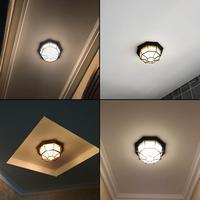 الإنارة Luminarias الفقرة تيتو الأوروبية في الهواء الطلق للماء السقف مصباح شرفة الممر الممر فناء المرحاض مقاوم للرطوبة Led-في أضواء السقف من مصابيح وإضاءات على