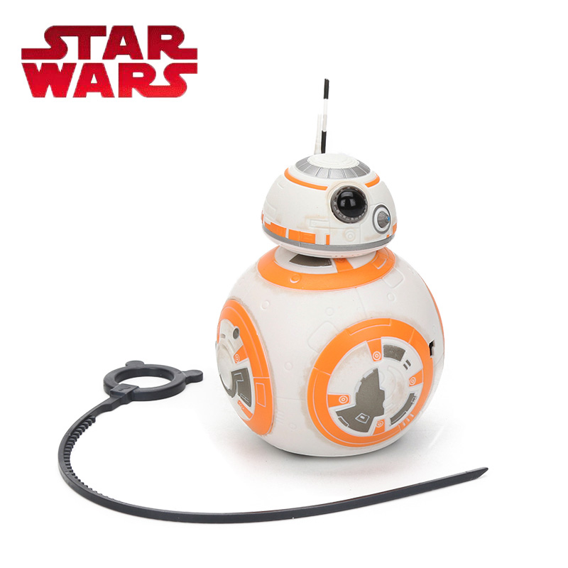 все цены на 2018 Star Wars E8 Toy Series Electronic The Last Jedi Rip N Go BB-8 PVC Action Figure Model Toys BB-8 Propulsion a Propulsion