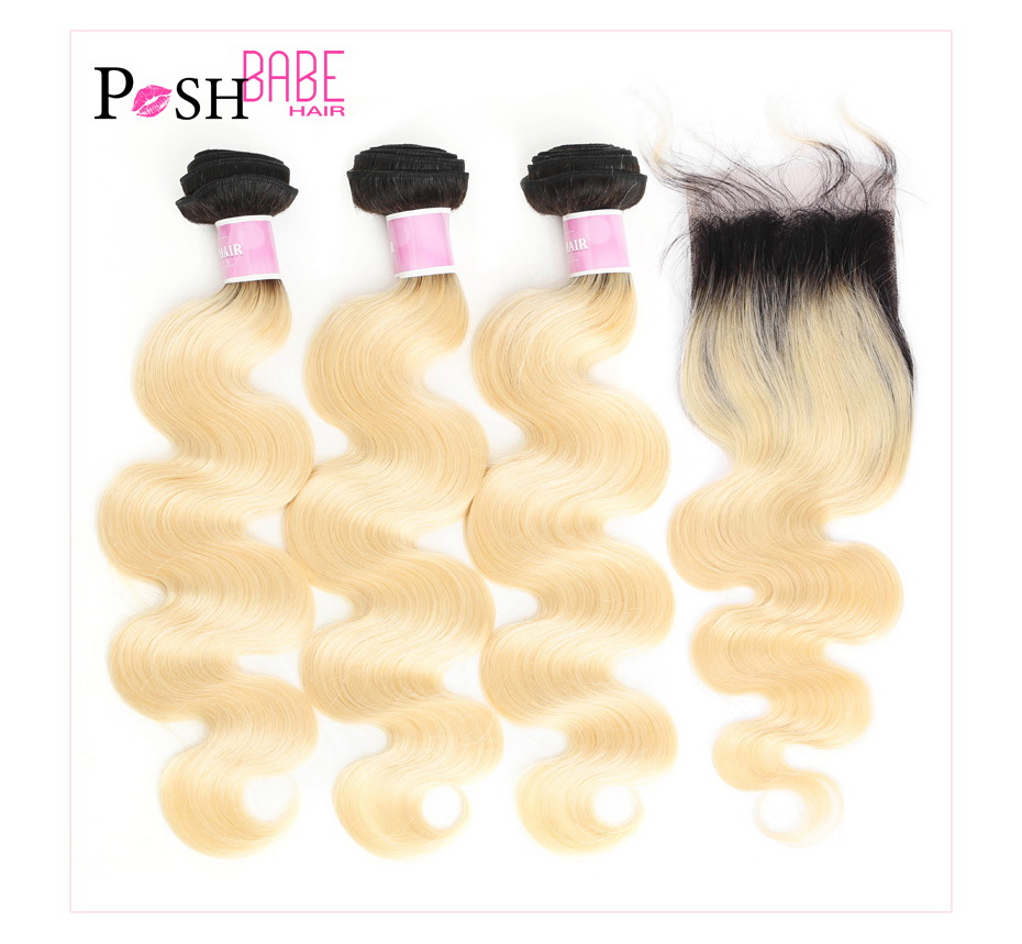 blonde bundles with closure (1)