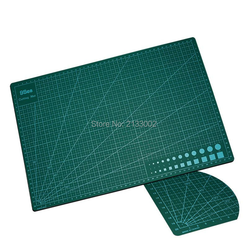 High Quality Strong PVC Rectangle Self Healing Cutting Mat Tool A4 Craft Dark Green 30cm * 22cm pvc rectangle self healing cutting mat tool a4 craft dark green 30cm 22cm