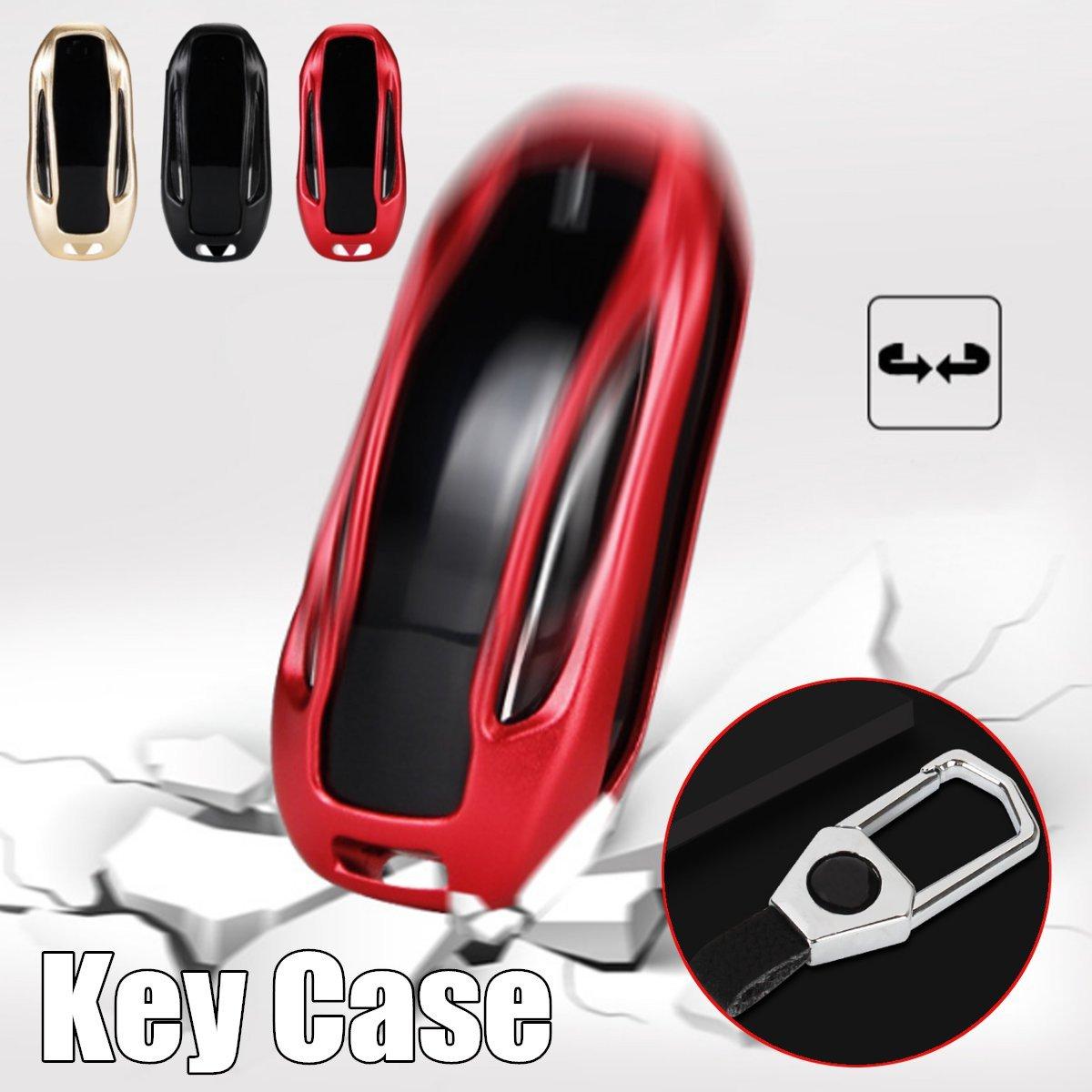 Фирменная Новинка Мода алюминиевый сплав + цинковый сплав Ключи сумка авто ключ для Тесла модель x