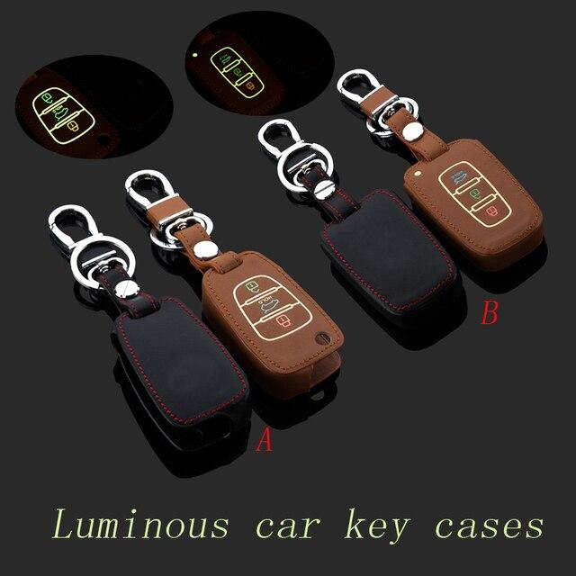 Натуральная Кожа Ключа автомобиля брелок крышки случая forKIA Sportage/Sportage R/K5 Smart/Складной брелок брелок держатель Автомобильные Аксессуары сумка