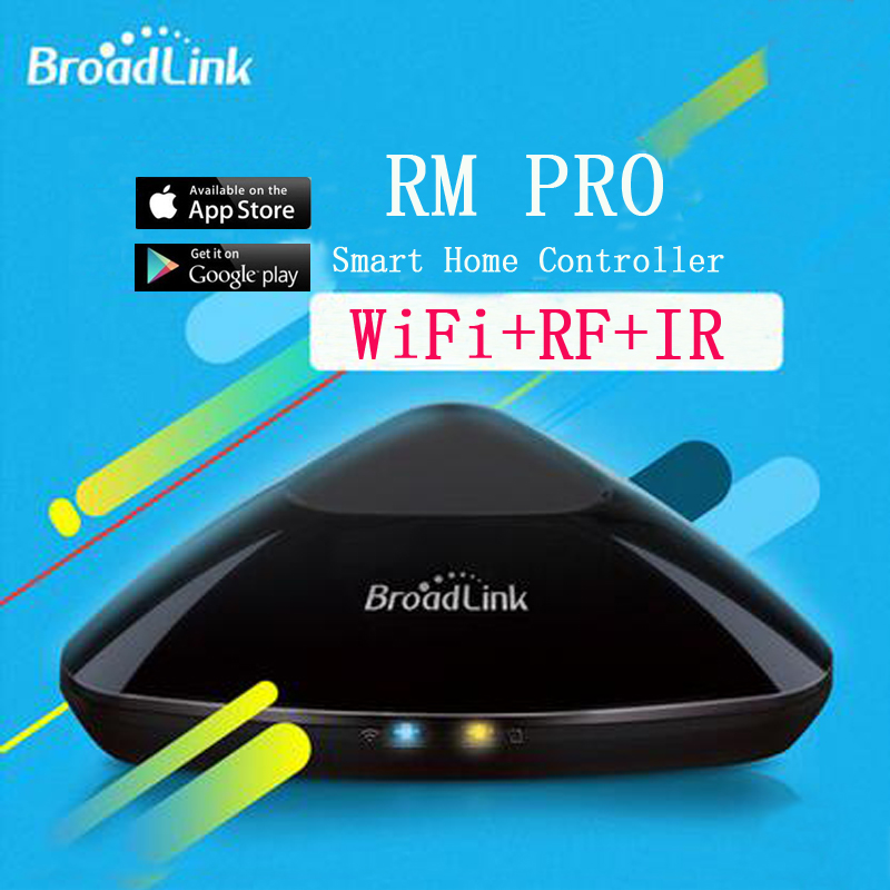 Broadlink RM2 RM PRO, Universal Intelligent Remote Switch, Smart Home Automation WiFi+IR+RF Switch, Via IOS Android Phone smart home automation broadlink rm2 rm pro universal intelligent remote controller wifi ir rf switch via ios android phone