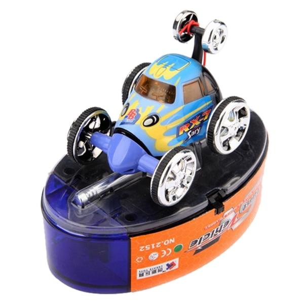 Mini Led RC 360 degree Wheelie Remote Control Stunt Car Toy Birthday Christmas Gift ...
