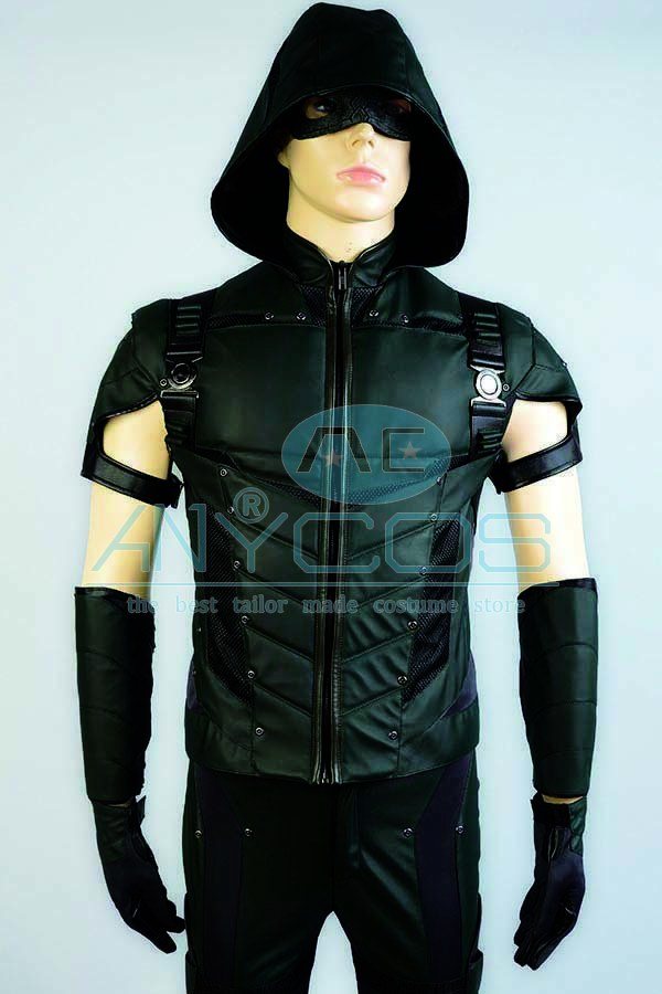 The Green Arrow Oliver Queen Uniforme Adultos pantalones superiores - Disfraces - foto 4