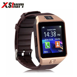 XShum Smartwatch DZ09 Fashion Call Reminder Bluetooth Electronics Men Smart Watch Compatible Android IOS Support Sim TF Card