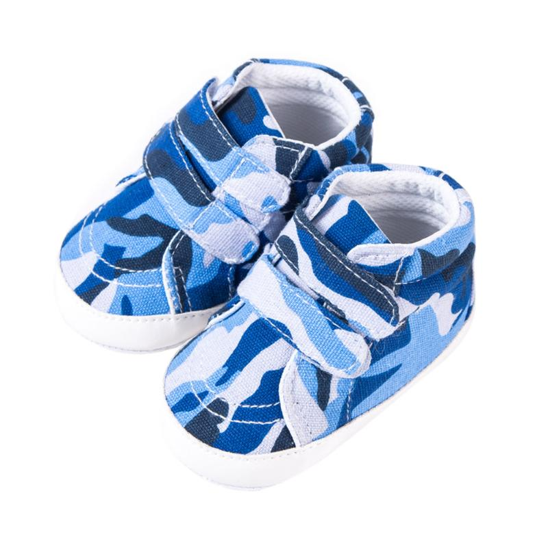 Autumn Baby Boys Shoes Girls Non Slip Kids Sneakers Toddlers Canvas Crib Camouflage Newborn Shoes First Walkers for 0-1Y
