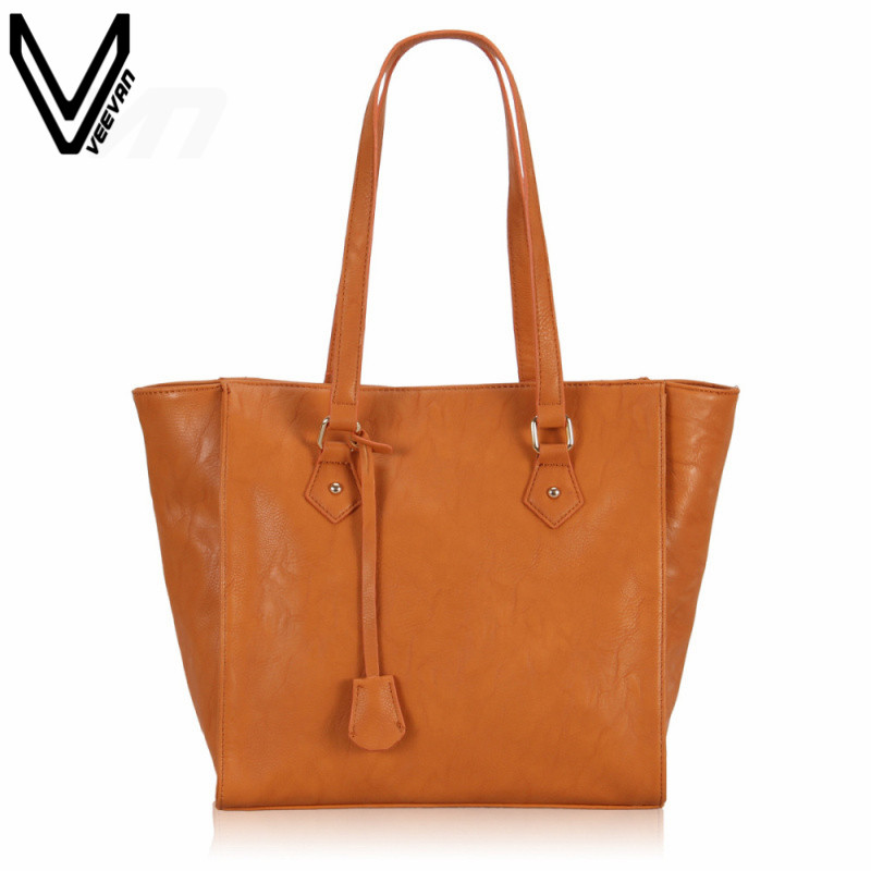 VEEVANV Fashion PU Leather Handbag For Women Girl's Totes Handbag Travel Shopping Messenger Bags Top Quality Casual Party Bag veevanv top quality pu leather handbag kim kardashian plaid rivet shoulder bag famous brand handbag messenger bags for women