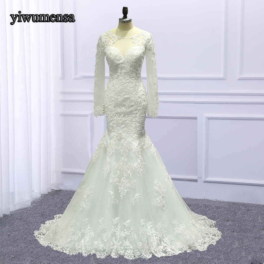 Best Price Real Photo Robe De Mariage Appliques Wedding dress 2018 ...