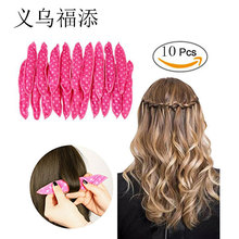 10Pcs/Set Hot sale Magic Pillow Soft Roller Hair Best Flexible Foam and Sponge Sleep Hair Curlers DIY Styling Hair Rollers Tool
