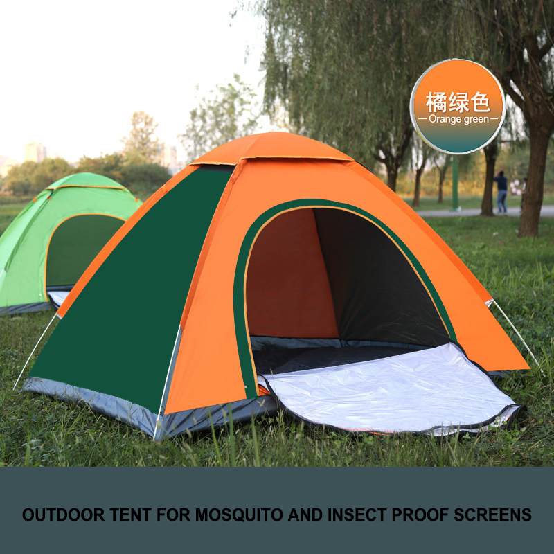 Person Family Camping Tent Pop Up Tents