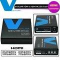 Voxlink hdmi para hdmi conversor de vídeo amplificador de áudio de 3.5mm 4 k x 2 k adaptador box para hdtv scaler projetor pc xbox360