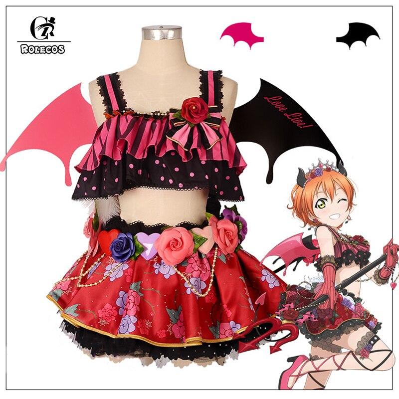 ROLECOS Anime Love Live! tous les Caractères Cosplay Costumes Petit Diable L'excitation Kousaka Honoka Minami Kotori Cosplay Robes