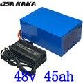 48V 45AH 2000W электрический велосипед батарея 48V 45AH комплект литий-ионный батарей 48V 45AH скутер батарея с 50A BMS и 54 6 5A зарядное устройство