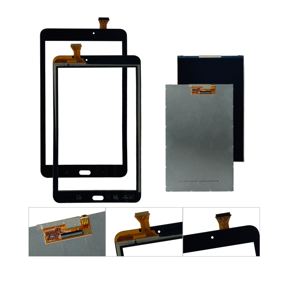 For Samsung Galaxy Tab A 10.1 SM-T580 T585 LCD Display Touch Screen Digitizer Assembly Replacement цена