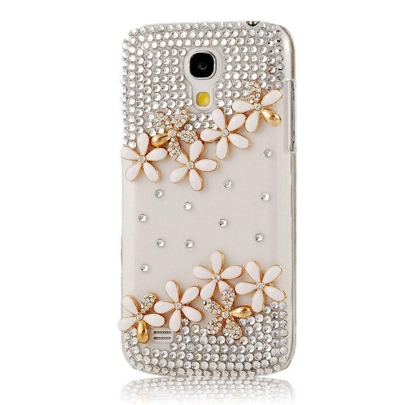 Bescheiden Bling Kristall Diamantkasten Volle Liebe Strass Pc Harte Rückseitige Abdeckung Für Samsung Galaxy S5/g360/grand 2 G7102/s5 I9600
