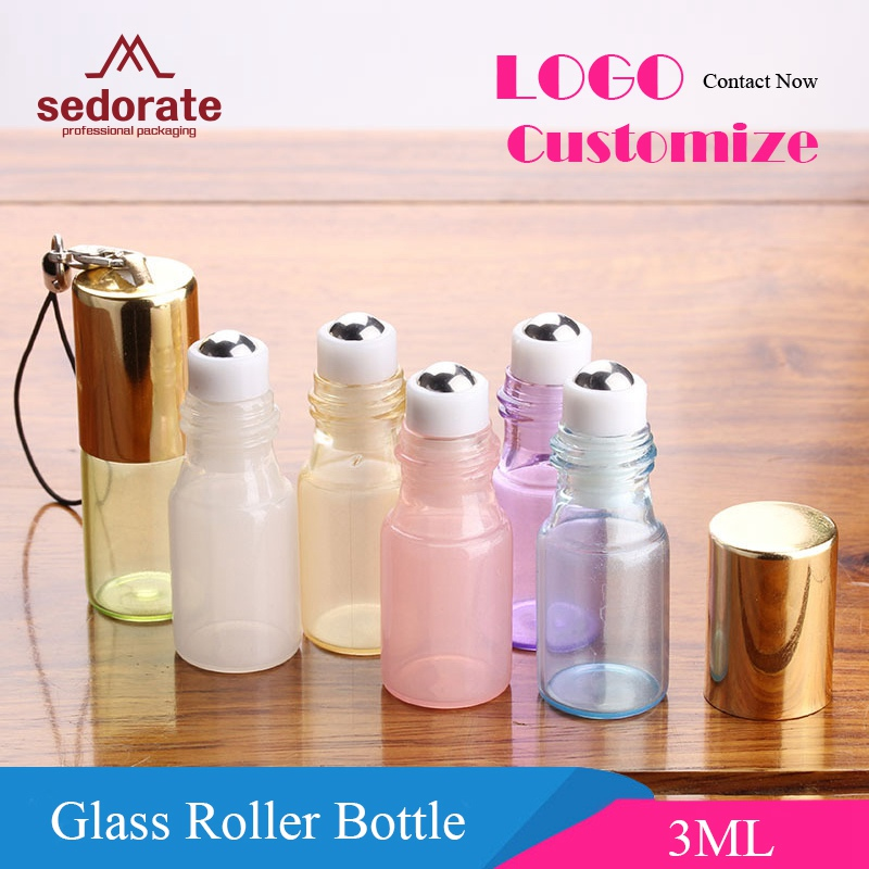 FP Small Mini Glass Jars with Pink Plastic Top Bottles Spice Storage Vials for M