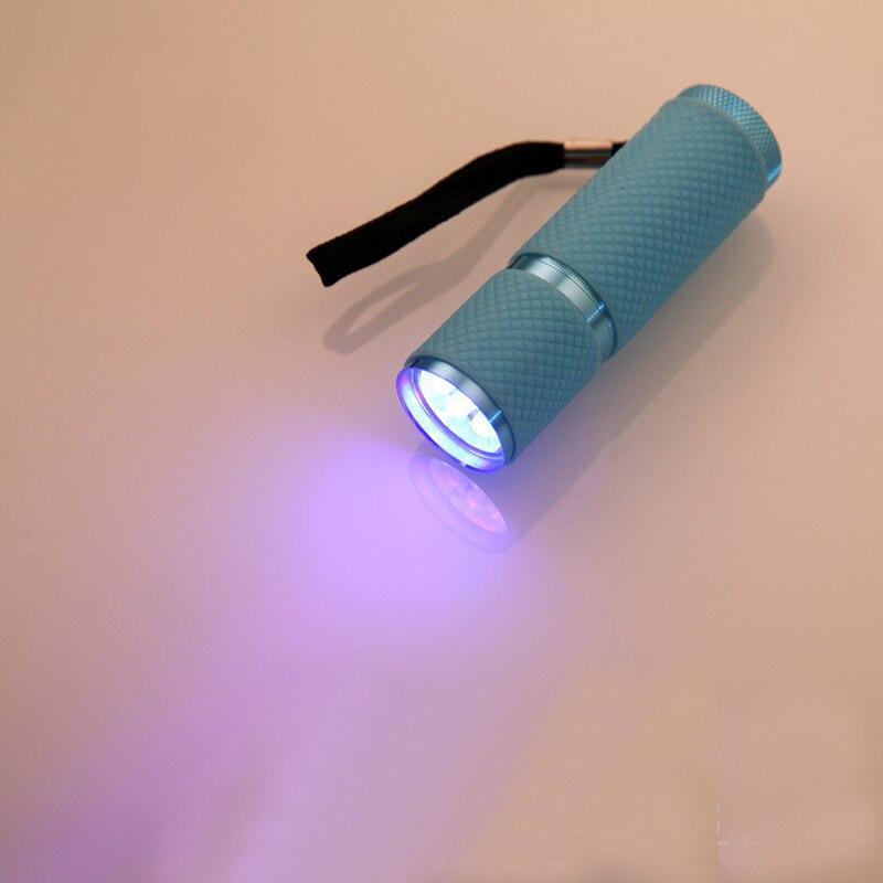 Skycoolwin lampes de poche LED 9 LED lampe perles torche LED lampe de lumière couleurs assorties 50 PCS/Lot - 5