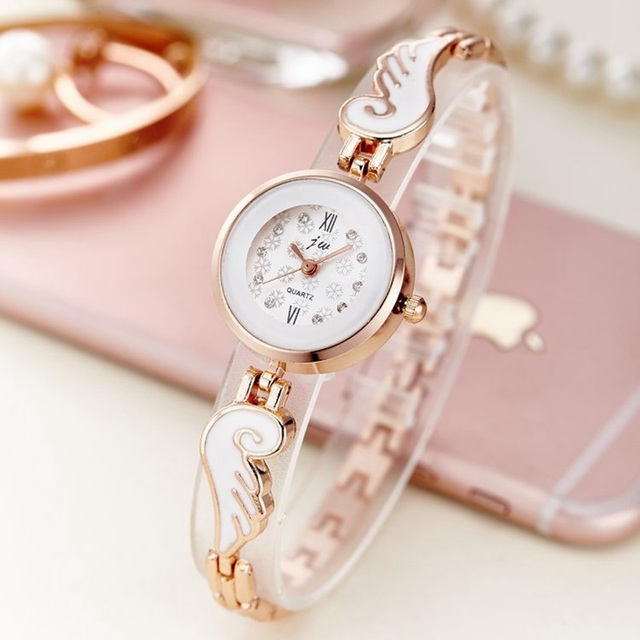 2017 New fashion Watch Luxury Bracelet Watches Original Women Quartz-Watch Rose
