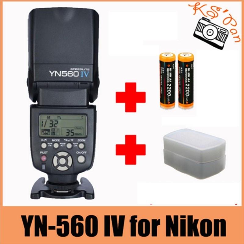 Yongnuo YN-560 IV Flash Speedlite for Nikon D700,D300s,D300,D200,D100,D90,D80,D7100,D7000,D5100,D5000,D3100,D3000,D60,D800,D600 d