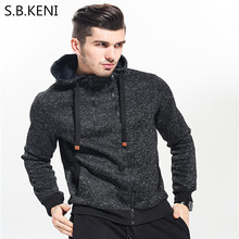 Neue 2017 Herbst Winter Fashion Hoodies Männer Doppel-reißverschluss Schlanke Sweatshirts Männlich Beiläufiges Mit Kapuze Jacke Sweatshirts