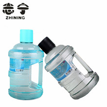 1 Stück Neueste kreative Eimer Wasser Flasche multicolor wählen 620 ml Lebensmittelqualität Material Wasserkocher Drink Freies Verschiffen Y-433