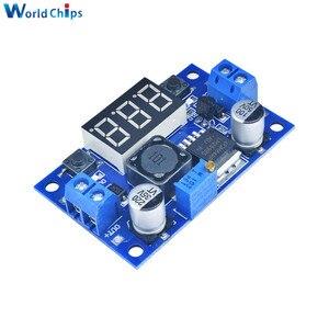 Image 3 - LM2596 DC Buck abaisseur Module de convertisseur de puissance cc/DC 4.0 ~ 40V à 1.25 37V 2A régulateur de tension réglable avec voltmètre LED