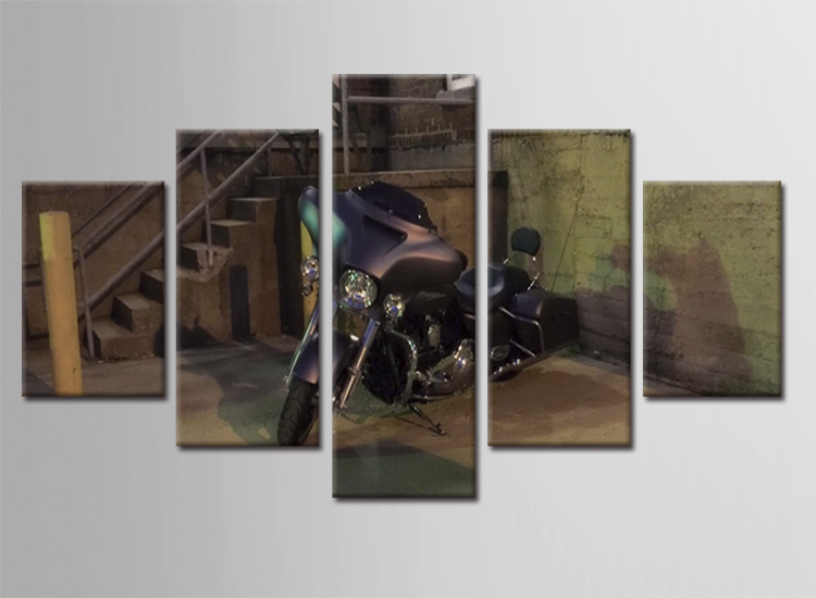 Brilliant Popular Canvas Art Motorcycle Buy Cheap Canvas Art Motorcycle Lots Inspirational Interior Design Netriciaus
