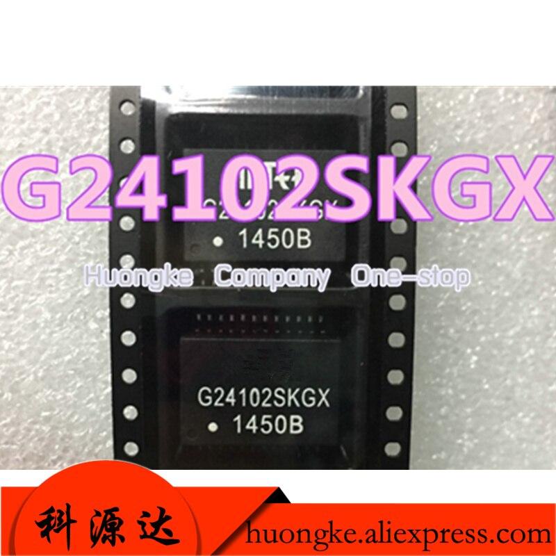 5pcs/lot G24102SKGX G24102  G24102MKG G24102MK Mark G24102MK-R G24102CE SOP24 DG24102G DIP-24 Network Transformer