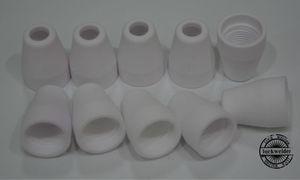 Image 2 - 40Amp Air Plasma Cutting Ceramic Shield Cup for CUT40D CUT50D PT 31 LG40 Torch Gun 20pcs