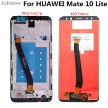 Nova 2i RNE-L21 Display For HUAWEI Mate 10 Lite LCD Display Touch Screen with Frame For HUAWEI Mate 10 Lite LCD Screen смартфон huawei nova 2i prestige gold rne l21